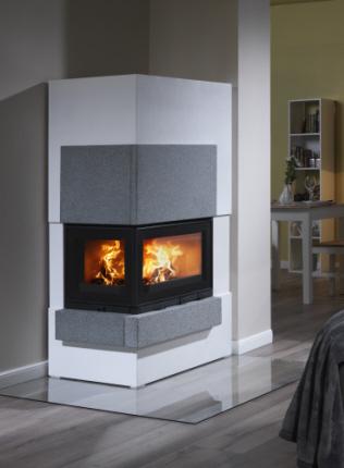 kaminbausatz cube v feuer flamme kaminoefen. Black Bedroom Furniture Sets. Home Design Ideas