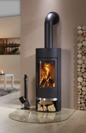 kaminofen filou stahl feuer flamme kaminoefen. Black Bedroom Furniture Sets. Home Design Ideas