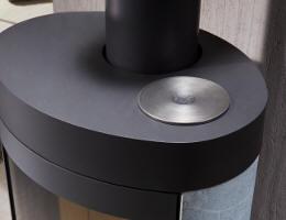 kaminofen cesa 5 von feuer und flamme. Black Bedroom Furniture Sets. Home Design Ideas