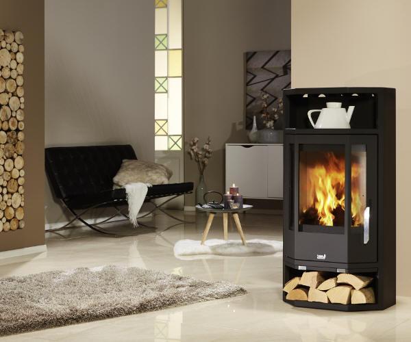 kaminofen haas sohn rubus woodstone von feuer und flamme. Black Bedroom Furniture Sets. Home Design Ideas