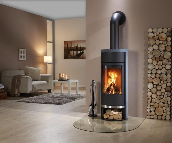 Kaminofen Filou Speckstein von Feuer und Flamme