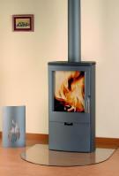 kaminofen pori 7 gussgrau oranier kaminoefen. Black Bedroom Furniture Sets. Home Design Ideas