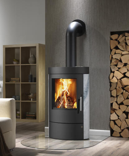 kaminofen cesa 7 feuer flamme kaminoefen. Black Bedroom Furniture Sets. Home Design Ideas