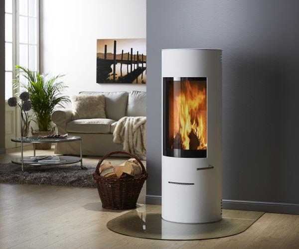 kaminofen cian weiss von feuer flamme. Black Bedroom Furniture Sets. Home Design Ideas