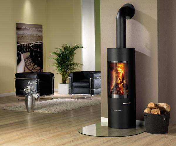 kaminofen cian von feuer flamme. Black Bedroom Furniture Sets. Home Design Ideas