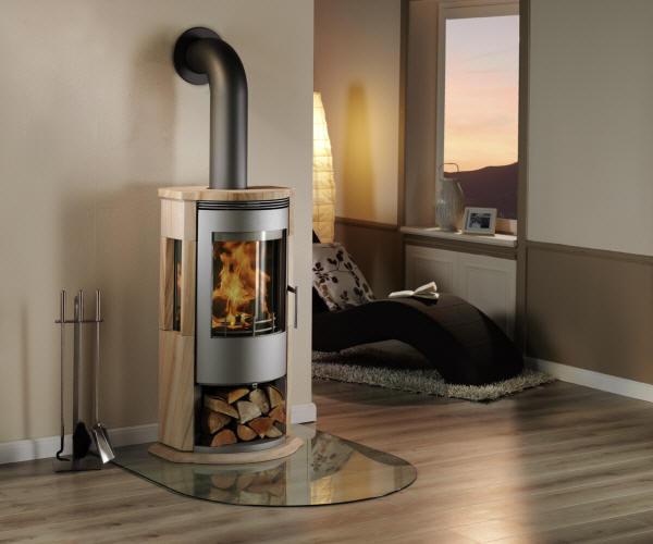 kaminofen arena sandstein von feuer und flamme. Black Bedroom Furniture Sets. Home Design Ideas