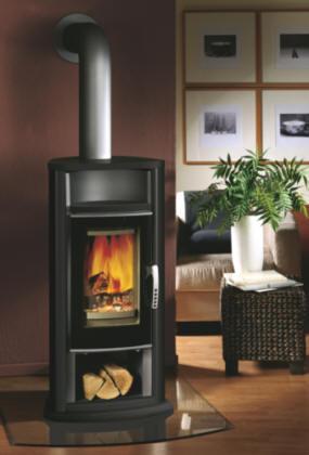 kaminofen artemis granit schwarz oranier kaminoefen. Black Bedroom Furniture Sets. Home Design Ideas