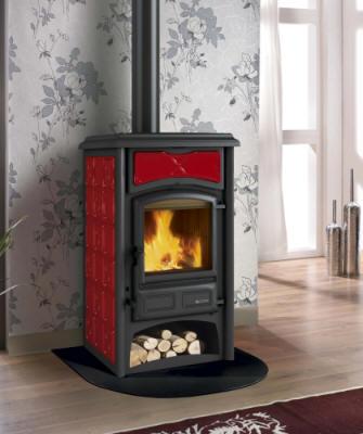 kaminofen gisella nordica kaminoefen. Black Bedroom Furniture Sets. Home Design Ideas