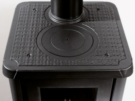 kaminofen gemma von feuer flamme. Black Bedroom Furniture Sets. Home Design Ideas