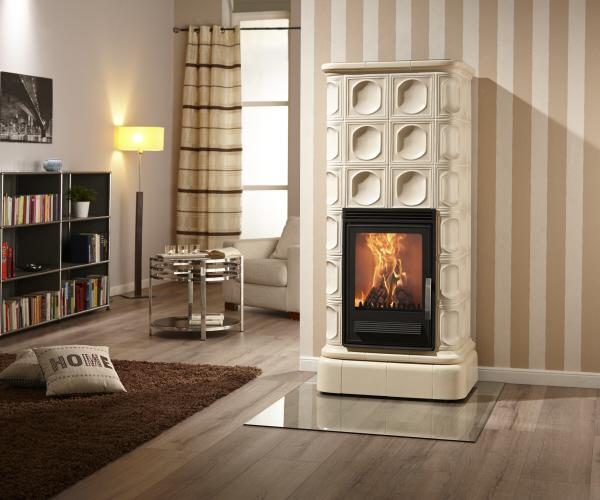 kaminofen serena von feuer und flamme. Black Bedroom Furniture Sets. Home Design Ideas