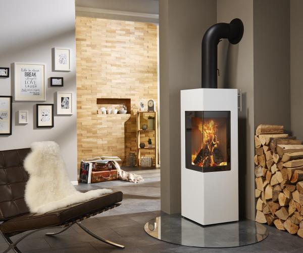 kaminofen cubus von feuer flamme. Black Bedroom Furniture Sets. Home Design Ideas