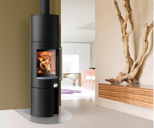 kaminofen haas sohn ficus von feuer und flamme. Black Bedroom Furniture Sets. Home Design Ideas