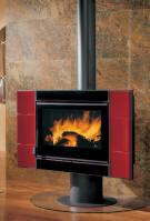 kaminofen fireball bordeaux nordica kaminoefen. Black Bedroom Furniture Sets. Home Design Ideas