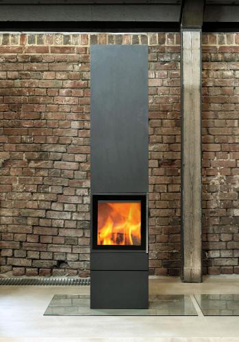kaminofen cubic 215 jydepejsen kaminoefen. Black Bedroom Furniture Sets. Home Design Ideas