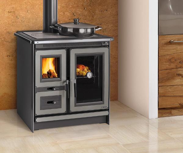 kuechenhexe la nordica rosa xxl von feuer und flamm. Black Bedroom Furniture Sets. Home Design Ideas