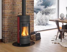 kaminofen helga von feuer und flamme. Black Bedroom Furniture Sets. Home Design Ideas