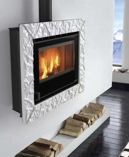 kamin geringe tiefe glas pendelleuchte modern. Black Bedroom Furniture Sets. Home Design Ideas