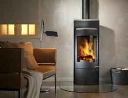 kaminofen kamin fen von feuer flamme kamin fen in. Black Bedroom Furniture Sets. Home Design Ideas