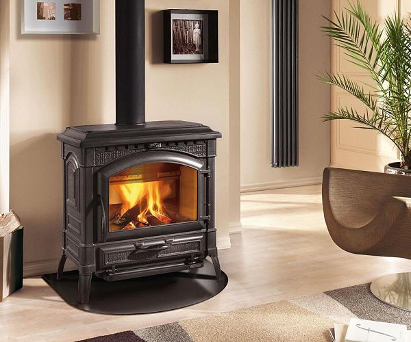 kaminofen la nordica termoisotta von feuer flamme. Black Bedroom Furniture Sets. Home Design Ideas