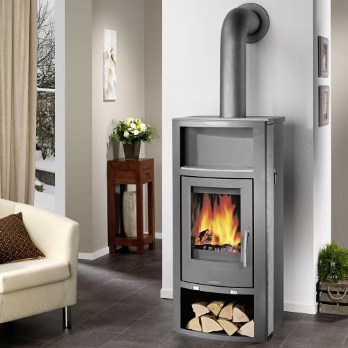kaminofen oranier polar aqua von feuer flamme. Black Bedroom Furniture Sets. Home Design Ideas